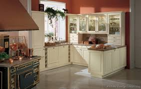 painted kitchen cabinets vintage cream:  more pictures middot traditional antique white kitchen