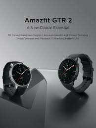 <b>Amazfit GTR</b> 2 | Fashionable Smartwatch with Classic Connotation ...