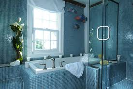 blue bathroom tile ideas: bathroom tile design ideas blue hotshotthemes luxury blue bathroom design