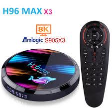 Buy Online <b>H96 MAX X3</b> Amlogic S905X3 <b>Android</b> TV BOX 8K HRD ...