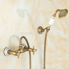 <b>Antique</b> Retro <b>Brass</b> Shower <b>Faucet</b> Noble and Elegant Bathroom ...
