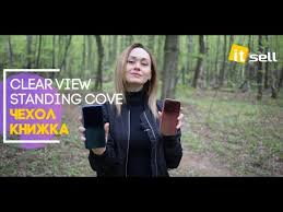 <b>Чехол</b>-<b>книжка</b> Clear View <b>Standing Cover</b> - YouTube