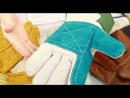 <b>Перчатки рабочие</b>, <b>кожаные</b>, спилковые - ТД Форт - YouTube