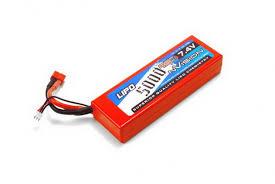 <b>Аккумулятор nVision</b> 7.4V 5000mAh 45C <b>LiPo</b> Deans plug NVO1111