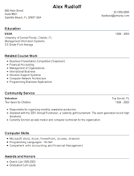 Resume Of Student With No Work Experience  resume examples high