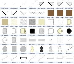 architectural drawing symbols for excel clip art architecture buildings and floor plan included architecture drawing floor plans