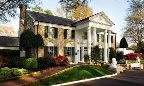 Graceland, Elvis' home in Memphis for more than 20 years. Photo courtesy of Graceland.