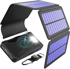 BLAVOR Solar Charger Five Panels Detachable, Qi ... - Amazon.com