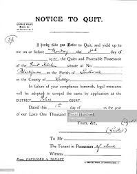 notice to quit pictures getty images a letter of notice from a landlord