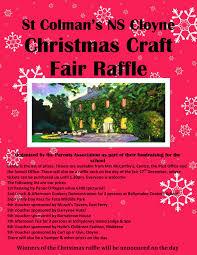 ns christmas raffle poster page st colman s national school christmas raffles prizes