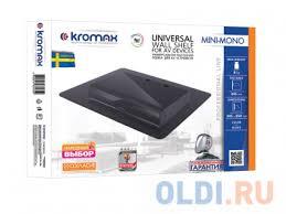 <b>Кронштейн</b> для DVD / AV / Blu-Ray <b>Kromax MINI</b>-<b>MONO</b> Black ...