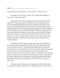 essay response sample essay on email