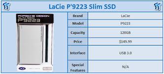 <b>LaCie Porsche Design P'9223</b> USB 3.0 Slim SSD Enclosure Review ...