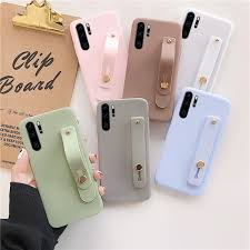 Solid <b>Color</b> Wrist <b>Strap</b> Hand <b>Band</b> Case For OPPO A5 A9 2020 A8 ...