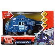 <b>Технопарк</b> мод. пласт. инерц. WY760-POL <b>Вертолет</b> Полиция ...