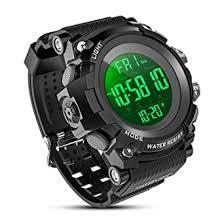 Buy YEENIK Men's Digital <b>Sport</b> Watch, <b>Military Watches</b> with 50M ...
