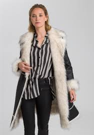 Coat with <b>high</b>-<b>quality</b> faux fur | <b>Outdoor</b> & Coats | <b>Fashion</b>