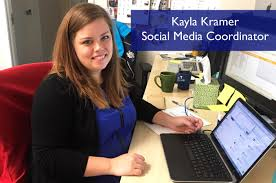 ta behind the scenes meet kayla kramer social media coordinator kayla came to us about a year ago starting off as a part timer and has recently joined the marketing team as our full time social media coordinator