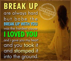 Break Up Love Quotes - Boy Banat via Relatably.com