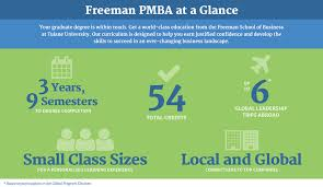 professional mba degree program part time master of business professional mba infographic