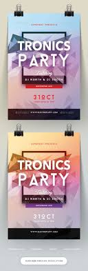 best ideas about creative flyers summer poster tronics party flyer