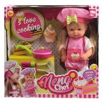 <b>Кукла Dimian</b> Baby <b>Nena Шеф</b>-<b>повар</b>, 36 см, BD387 — купить по ...