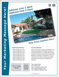 real estate flyer and postcard templates real estate flyers  more flyers