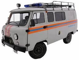 """<b>Сборная модель ZVEZDA</b> """"<b>УАЗ</b> 3909 Аварийно-спасательная ..."""