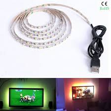 50cm 1m 5v usb to 5 5x2 1 mm plug dc power cable led tape light wire connector socket adapter for smd 5050 3528 strip