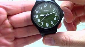 <b>Часы Casio MW</b>-<b>240</b>-3B - видео обзор от PresidentWatches.Ru ...