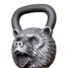 Гири - <b>Гиря Iron Head Медведь</b> 24 кг