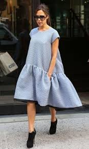 Суперобъемные наряды — <b>секрет стройности</b> Виктории Бекхэм ...