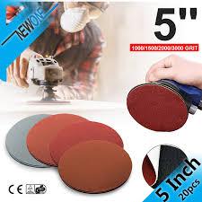 <b>20pcs 125mm 5 inch</b> Round Sanding Paper Disk Sand Sheets ...