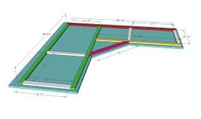 diy plans built in corner desk plans pdf download building plans playhouse bed built corner desk home