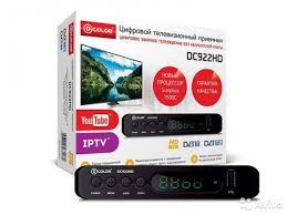 <b>Тюнеры</b> для <b>цифрового</b> тв <b>DVB</b>-<b>T2 D</b>-<b>Color</b> DC922HD купить в ...