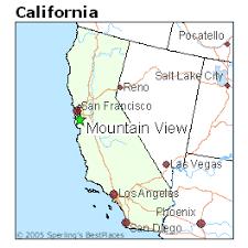 Resultado de imagem para mountain view california