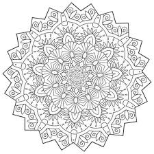 Small Picture 654 best Mandalas images on Pinterest Drawings Adult coloring