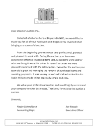 testimonials moecker auctions letter from nhg