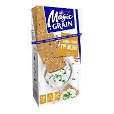 <b>Magic Grain</b> Хлебцы гречневые Киноа-кунжут 114 г - Акушерство ...
