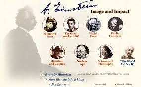 Einstein-Image and Impact. AIP History Center exhibit.