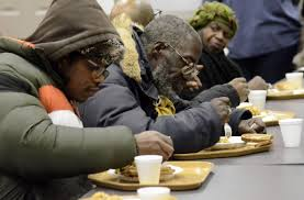 Image result for free images of people standing in line at soup kitchen