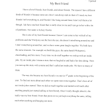 essay in english friendship essay in english