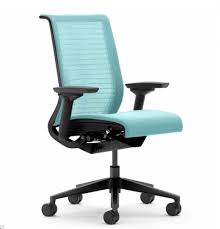 one blue task chair office task chairs