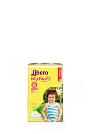 <b>Трусики Libero Dry</b> Pants, 6 (13-20 кг), 46 шт. - купить в интернет ...
