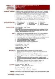 account manager cv template  sample  job description  resume    a sample of a retail  s assistant cv that job seekers can use as a template to write their own interview winning resume