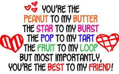To :My beautiful BFF MADDY!! on Pinterest | Best Friend Quotes ...