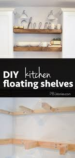 kitchen trends open shelves and an easy diy tutorial how to make them yourself cabinet lighting 10 diy easy