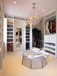 complete gorgeous walk in closet alexandra von furstenberg with crystal chandelier and tufted ottoman alexandra furniture