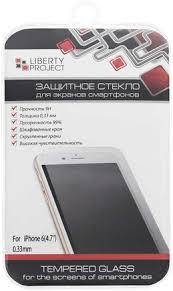 Купить <b>Защитное стекло Liberty Project</b> для Apple iPhone 6/6s 0.3 ...