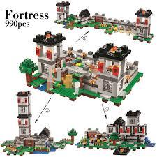 <b>My world Minecraft</b> 4in1 Sandbox Fortress Castle Building Block ...